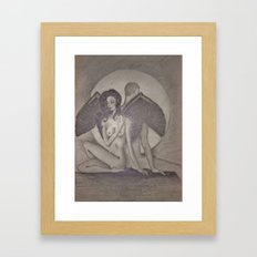 Love`s  Wings Framed Art Print
