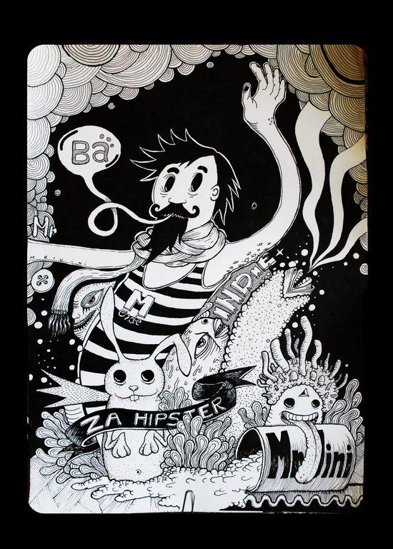 Character n0#13 Art Print