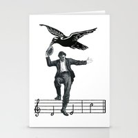 Saved By The Music Again  Stationery Cards