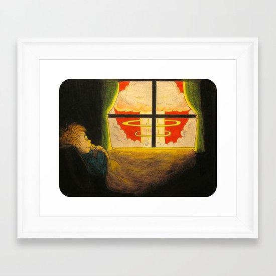 """It Ain't So Bad"" Framed Art Print"