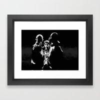 Three Kings Framed Art Print