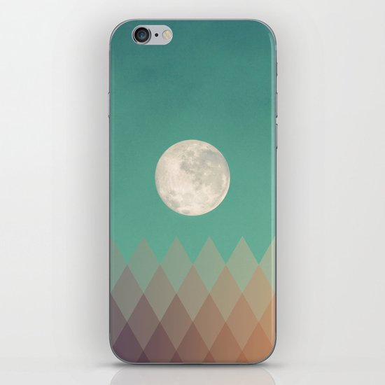 Blue Moon iPhone & iPod Skin