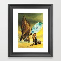 The Wild West Guide To The Galaxy #229 Framed Art Print
