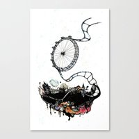 New British Film Festiva… Canvas Print