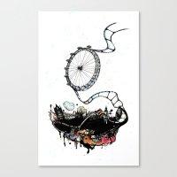 New British Film Festival Canvas Print