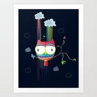 Colorfowl Art Print