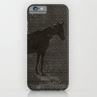 Black Dot Horse iPhone 6 Slim Case
