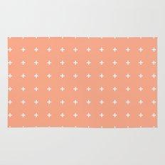 Peach Cross // Peach Plus Rug
