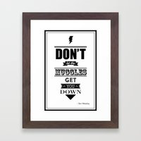 HP Quotes - Prisoner Of … Framed Art Print
