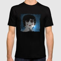 Renee Carl, French Actress (1913) SMALL Black Mens Fitted Tee
