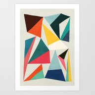 Collection Of Pointy Sum… Art Print