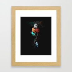 A Space Oddity Framed Art Print