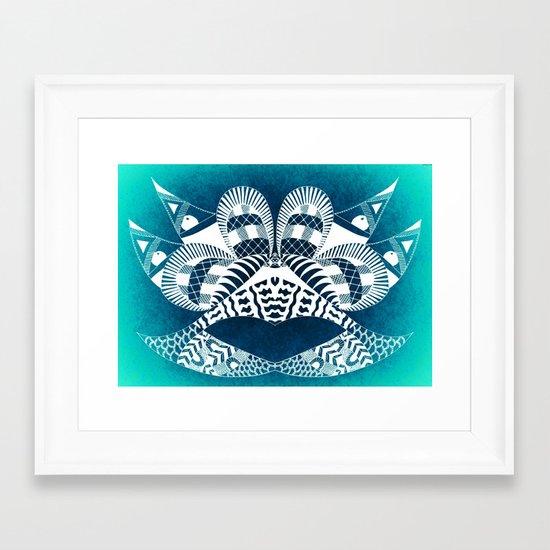 Ubiquitous Bird Collection1 Framed Art Print