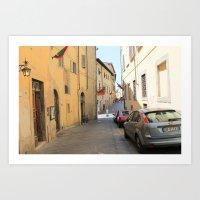Italian Street 1 Art Print