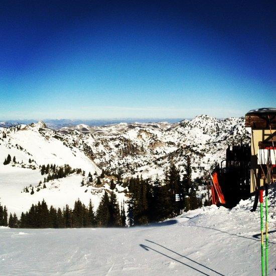 Ski season Art Print