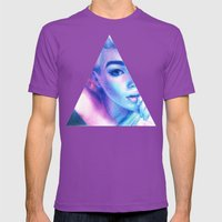 Technicolor Triangle Sh*… Mens Fitted Tee Ultraviolet SMALL