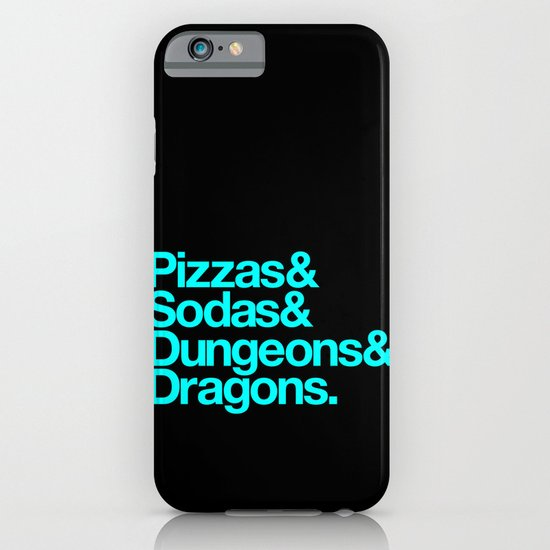 Dungeons & Dragons & Swag iPhone & iPod Case