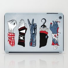 Epic Rock Paper Scissors Battle iPad Case