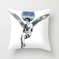 DAVID BOWIE ANGEL Throw Pillow