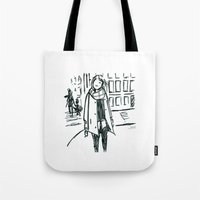 Brush Pen Fashion Illust… Tote Bag