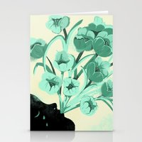 Bonjour tristesse Stationery Cards