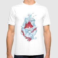 ice  Mens Fitted Tee White SMALL