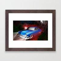 'Shine Runner Framed Art Print