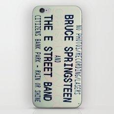 Bruce Springsteen & the E Street Band: Rain or Shine iPhone & iPod Skin