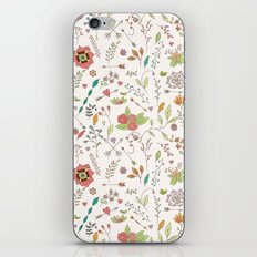 Flower Pattern 01 iPhone & iPod Skin