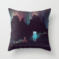 the adventure continues ! Throw Pillow