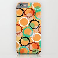 iPhone & iPod Case featuring Smells like flowers and sun by Miguel Á. Núñez I.