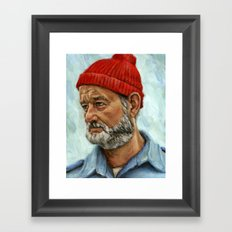 Bill Murray / Steve Zissou Framed Art Print