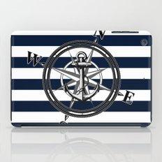 Navy Striped Nautica iPad Case
