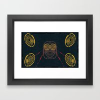 Mad Space Framed Art Print