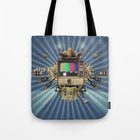 The  Television Will Not… Tote Bag
