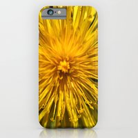 iPhone & iPod Case featuring Yellow Love by Christine Workman