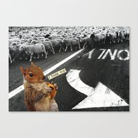 You Don't Have To Follow… Canvas Print