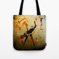Flame Dancer Tote Bag