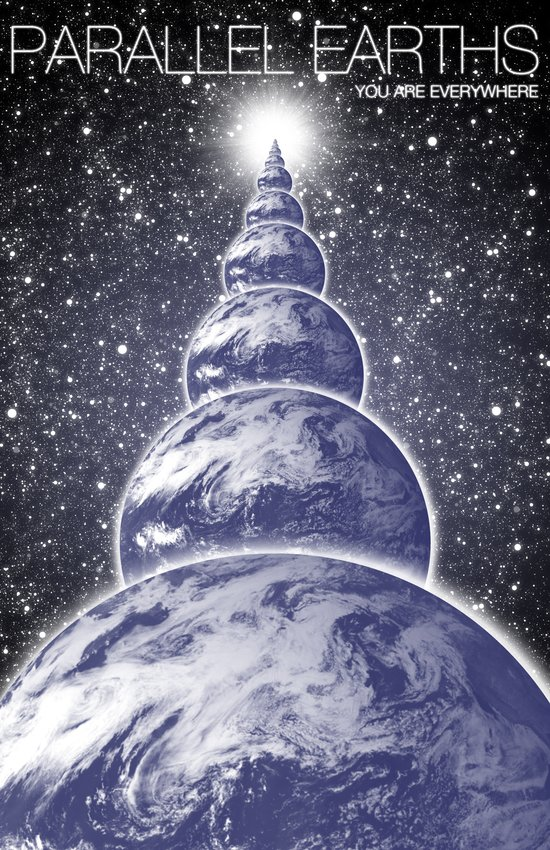 PARALLEL EARTHS Art Print