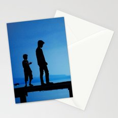 WHEN I'M FEELING BLUE Stationery Cards