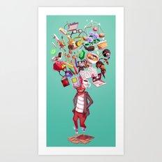 Inner World Art Print