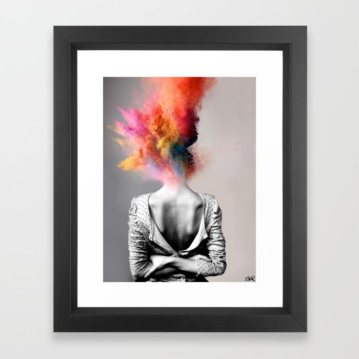 Black Framed Art Prints | Society6