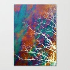 Worn Sky Canvas Print
