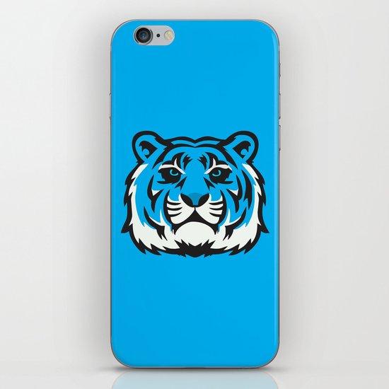 Blue Tiger iPhone & iPod Skin