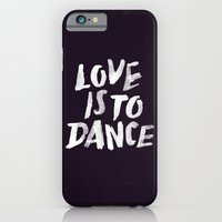 iPhone & iPod Case featuring Love is to Dance by WEAREYAWN