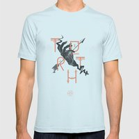Truth Mens Fitted Tee Light Blue SMALL