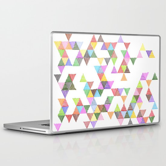 Technicolour Raindrops Laptop & iPad Skin