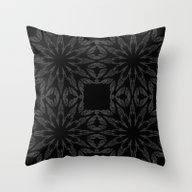Slate Gray Colorburst Throw Pillow