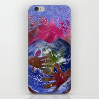 Mother Earth Is Melting iPhone & iPod Skin