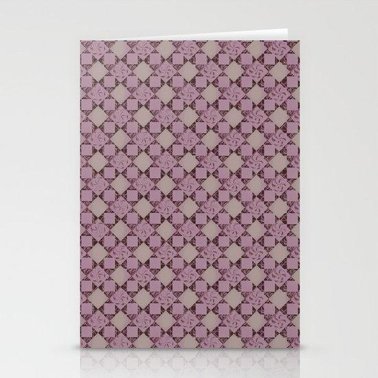 pattern (pale pink#2) Stationery Card